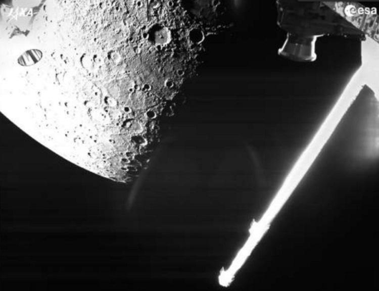 Sonda BepiColombo przesłała pierwsze zdjęcie Merkurego