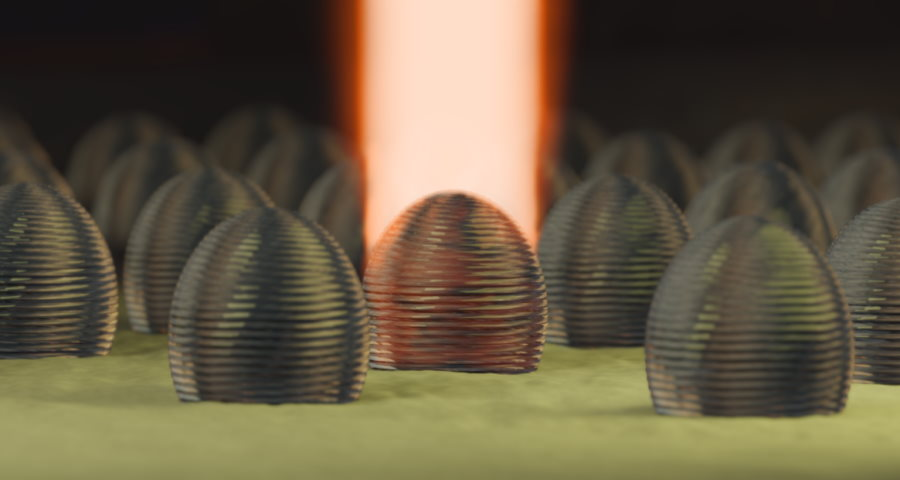 Asferyczne mikrosoczewki wydrukowane na laserowej drukarce 3D