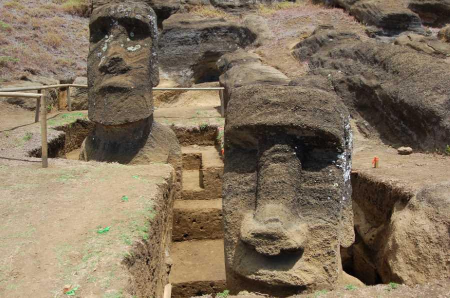Posągi z Wyspy Wielkanocnej zbudowano, by użyźniały glebę?
