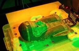Badania egipskiego sarkofagu