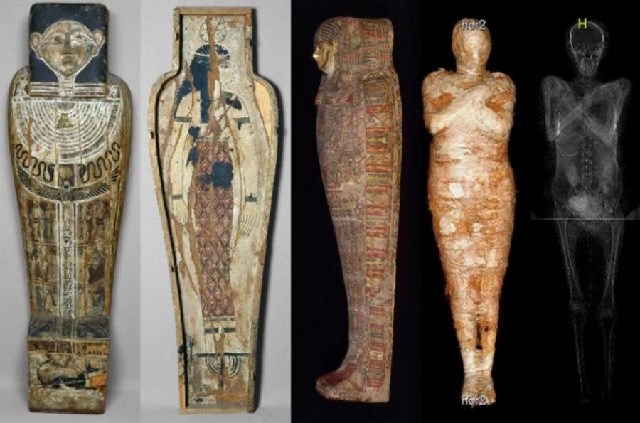 Mumia kapłana z warszawskiego muzeum okazała się być jedyną znaną mumią ciężarnej kobiety