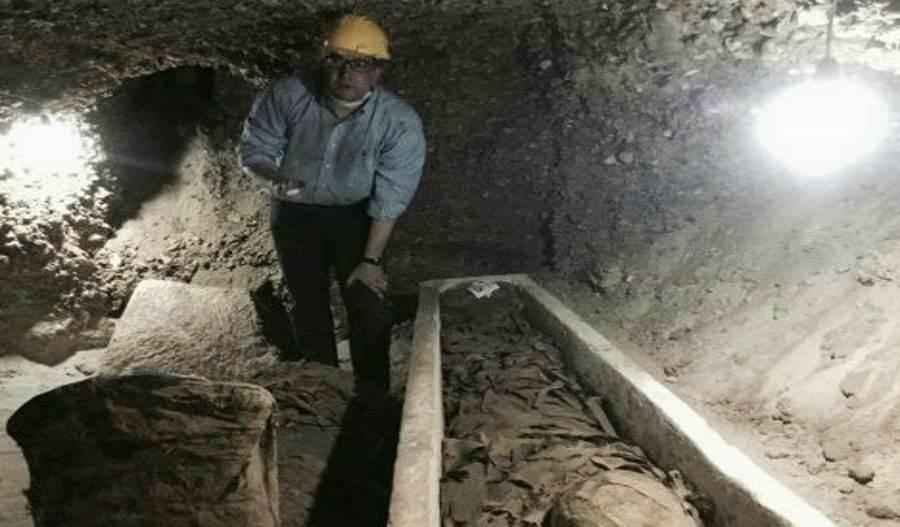 Wnętrze egipskiego grobowca