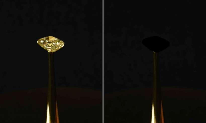 Opracowano najczarniejszy materiał na świecie. Pochłania 99,96 proc. światła