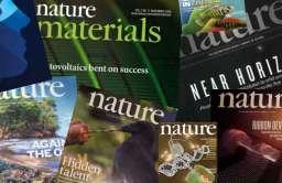 "Kilka egzemplarzy magazyny ""Nature"""
