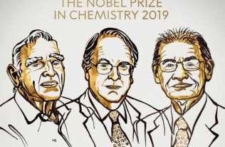 Nagroda Nobla 2019 z chemii za rozwój baterii litowo-jonowych