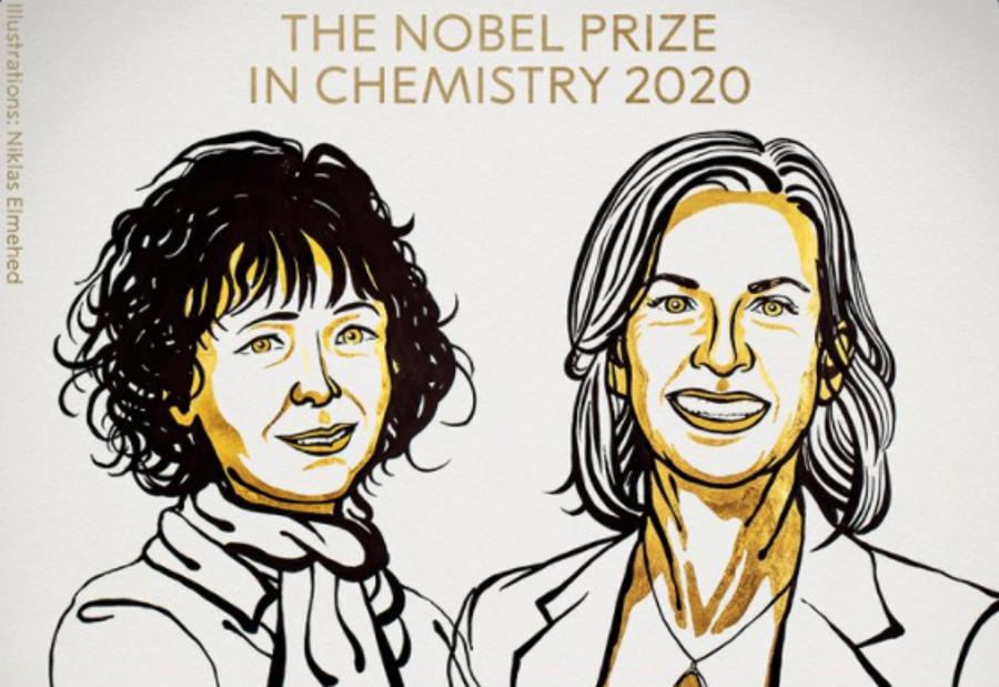 Przyznano Nagrodę Nobla 2020 z chemii