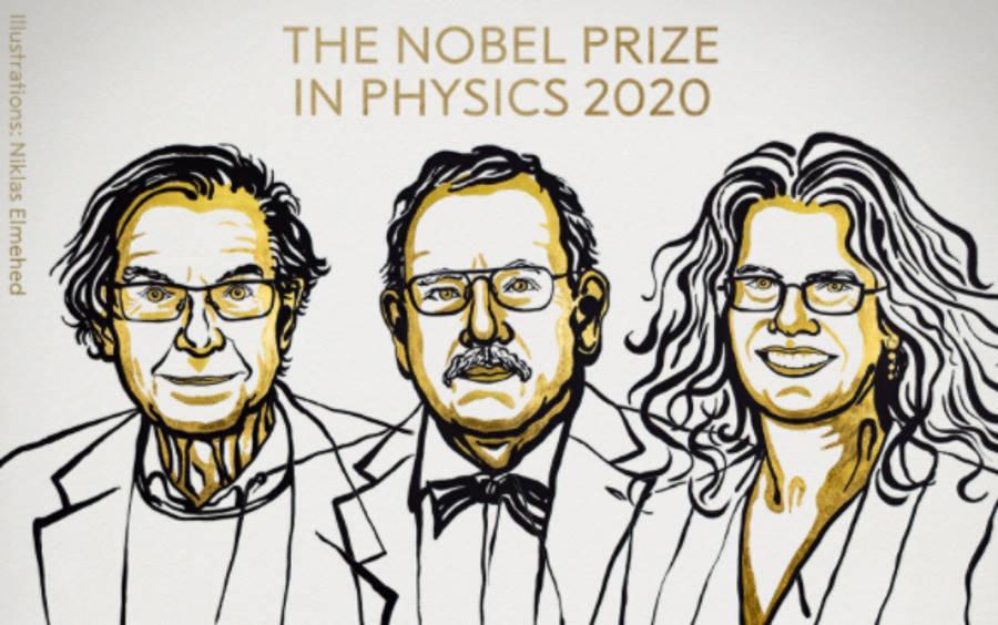 Ogłoszono laureatów Nagrody Nobla 2020 z fizyki