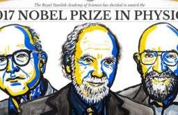 Przyznano Nagrodę Nobla 2017 z fizyki