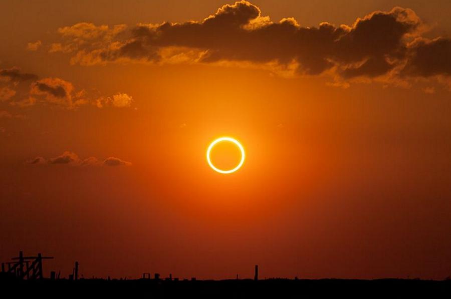 Już jutro obrączkowe zaćmienie Słońca. Gdzie i jak można je zobaczyć?