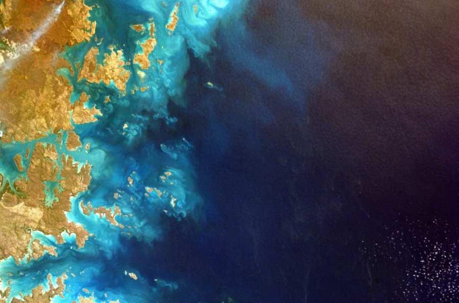 Morze widziane z kosmosu
