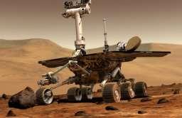 Łazik Opportunity na Marsie