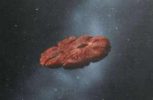 Nowe badania obiektu 'Oumuamua. Naukowcy sugerują, że to fragment świata podobnego do Plutona