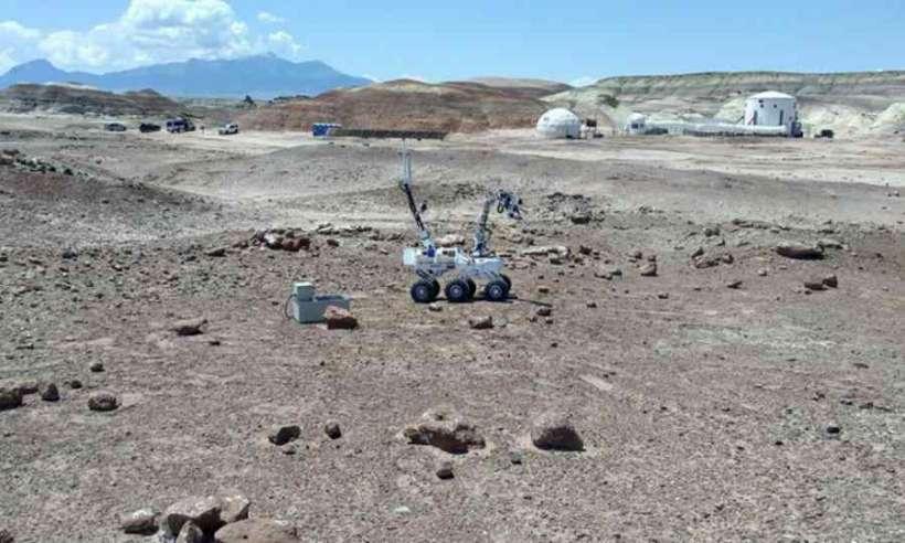 Łazik marsjański PCz Rover Team