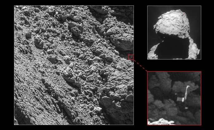 Lądownik Philae na komecie 67P