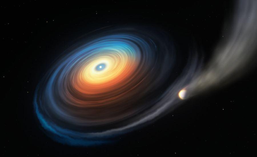 Odkryto planetę krążącą wokół martwej gwiazdy