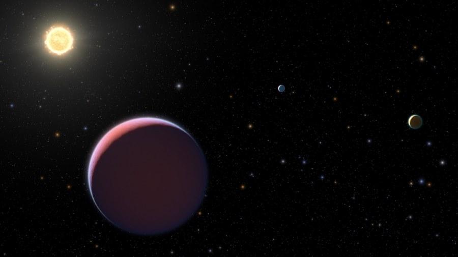 Planety puszyste jak wata cukrowa
