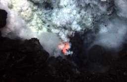 Wybuch podwodnego wulkanu