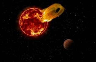Erupcja na Proxima Centauri