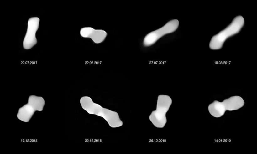 Astronomowie sfotografowali planetoidę o nietypowym kształcie psiej kości
