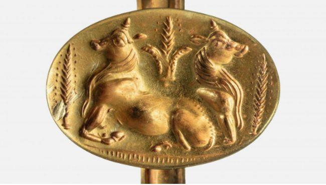 Złoty pierścień sprzed 3500 lat znaleziony w Pylos
