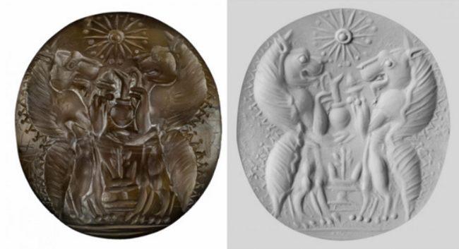 Agatowa pieczęć sprzed 3500 lat znaleziona w Pylos
