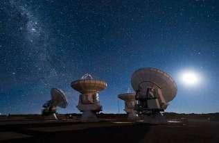Teleskopy obserwatorium ALMA w Chile