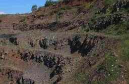 Pozostałości rafy koralowej w Górach Świętokrzyskich