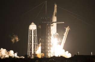 Udany start rakiety z kapsułą Resilience. Astronauci w drodze na ISS