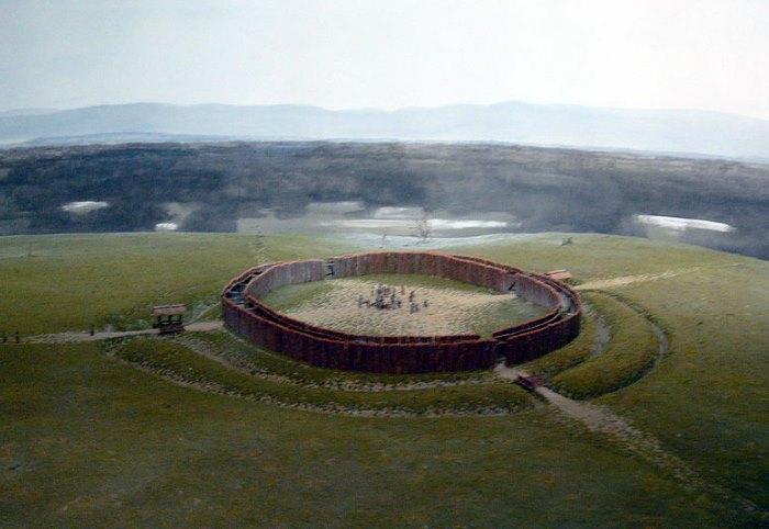 Neolityczny rondel z Künzing-Unternberg