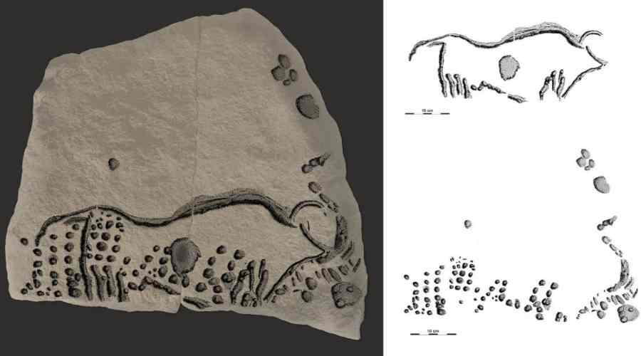 Obraz z epoki kamienia