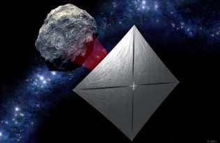 Zbliża się start historycznej misji NASA. Mała sonda wykorzysta żagiel słoneczny