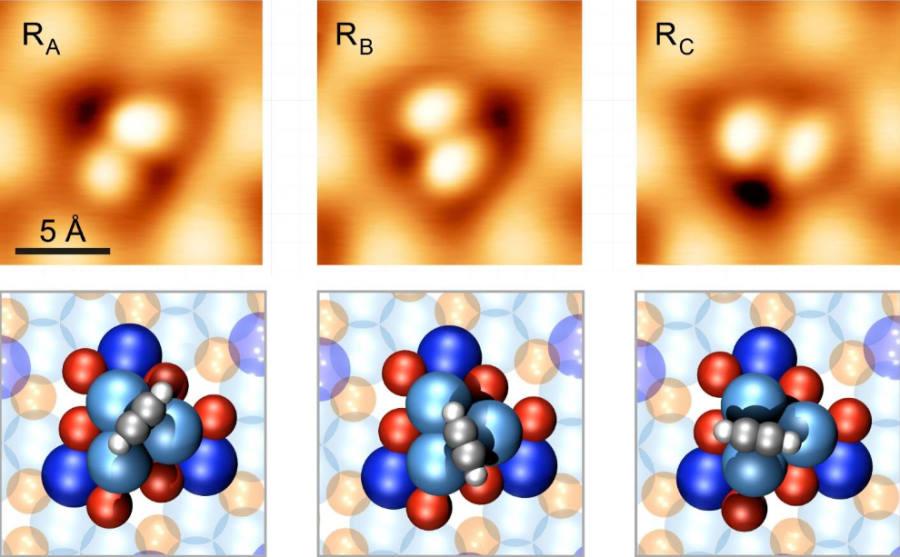 Funkcjonalny silnik, który składa się zaledwie z 16 atomów