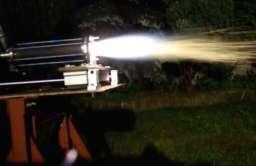 Testy silnika rakietowego