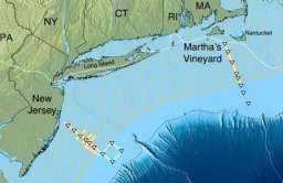 Lokalizacja słodkowodnego zbiornika pod Oceanem Atlantyckim