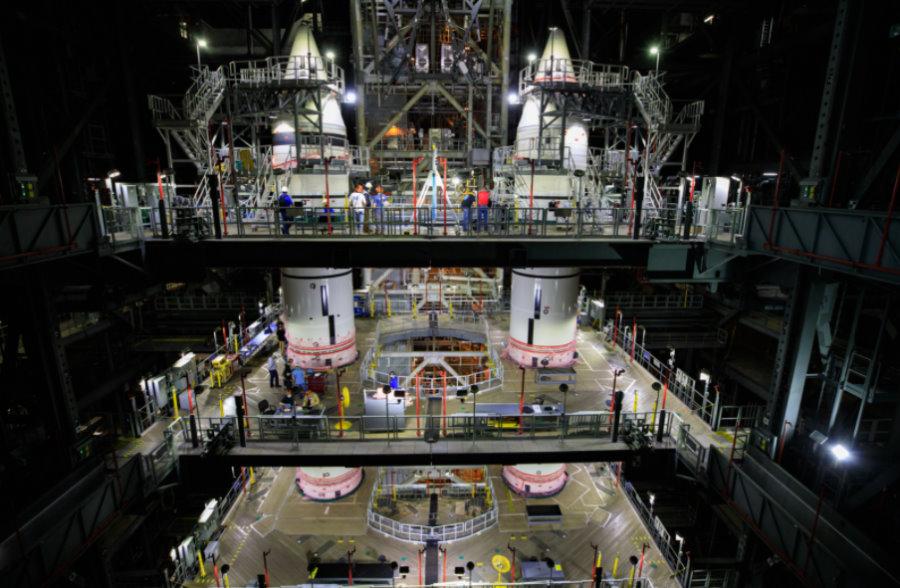 Amerykanie budują SLS – jedną z największych rakiet w historii
