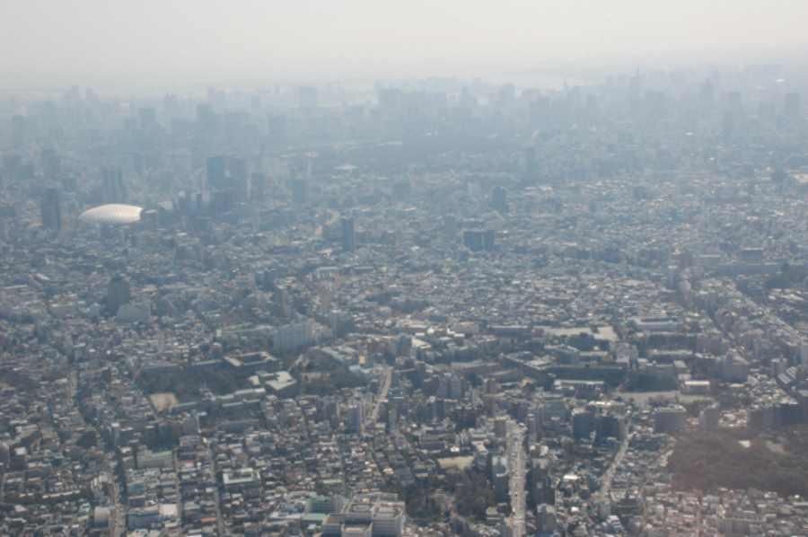 Smog w Tokio