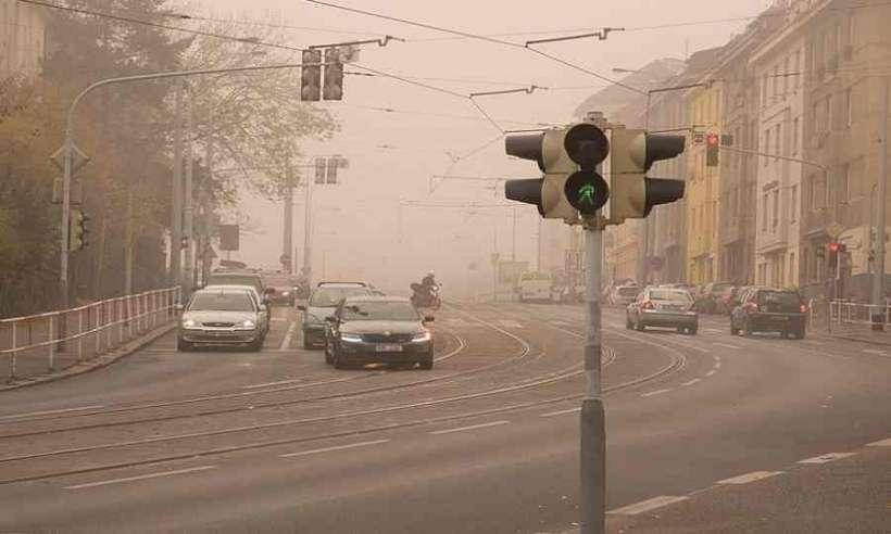 Smog w mieście