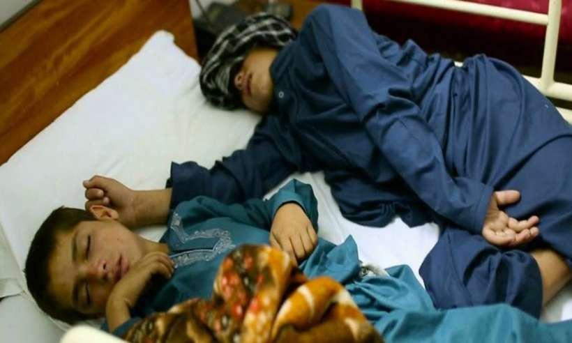 Abdul Rasheed oraz jego starszy brat 13-letni Shoaib Ahmed