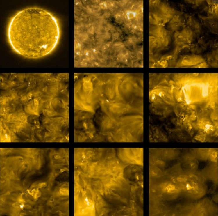 Pierwsze zdjęcia sondy Solar Orbiter