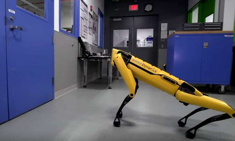 Robot SpotMini firmy Boston Dynamics