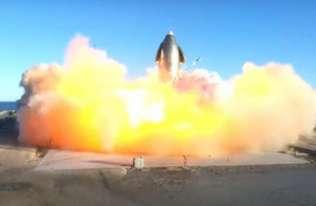 Lot testowy rakiety Starship zakończony eksplozją
