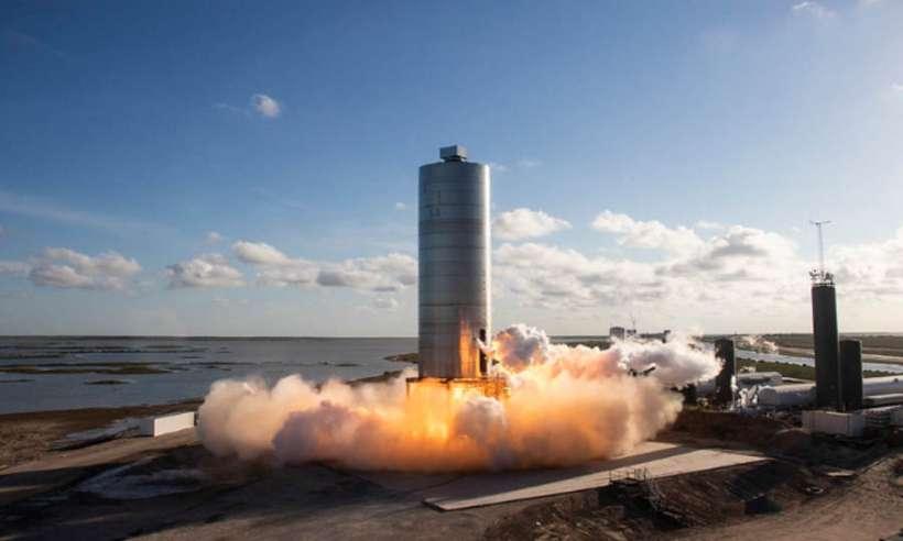 Udany lot próbny prototypu statku Starship