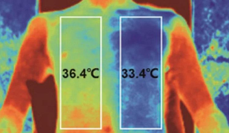 tkanina zapewniająca chłodzenie w ciągu dnia