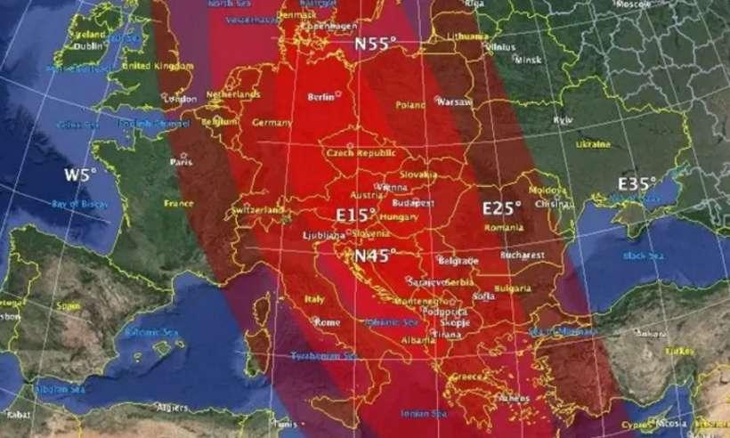 Dzień zagłady. Hipotetyczna asteroida niszczy Europę w symulacji NASA
