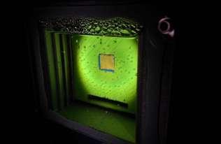 """""""Sztuczny liść"""", który wykorzystuje światło słoneczne do wytwarzania gazu"""