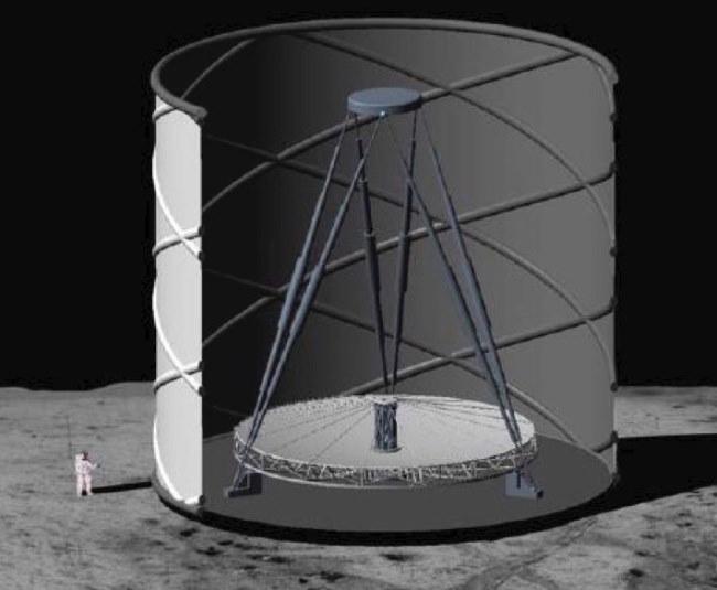 Ultimately Large Telescope - gigantyczny teleskop na Księżycu