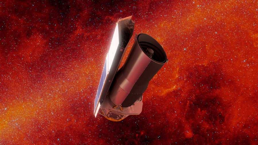 teleskop spitzera