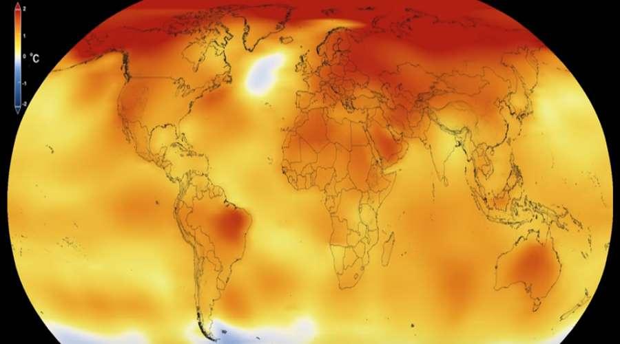 Mapa temperatur