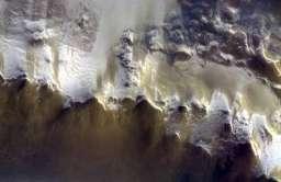 Krater uderzeniowy Koroleva na Marsie