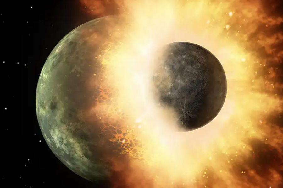 Zderzenie Ziemi z Theą